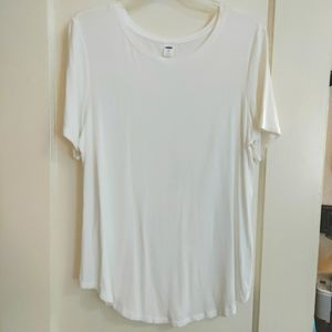 Old navy white luxe top
